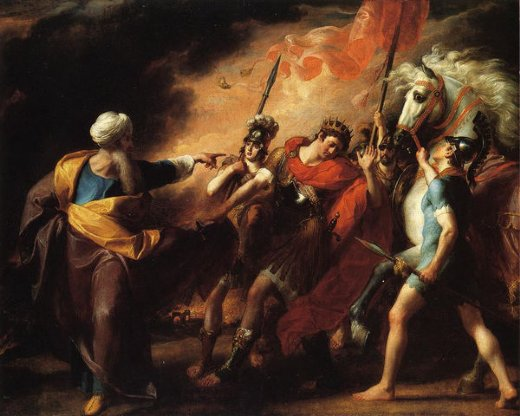 john singleton copley saul reproved by samuel for not obeying the commandments of the lord paintings