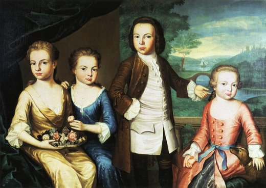 john singleton copley the gore children paintings