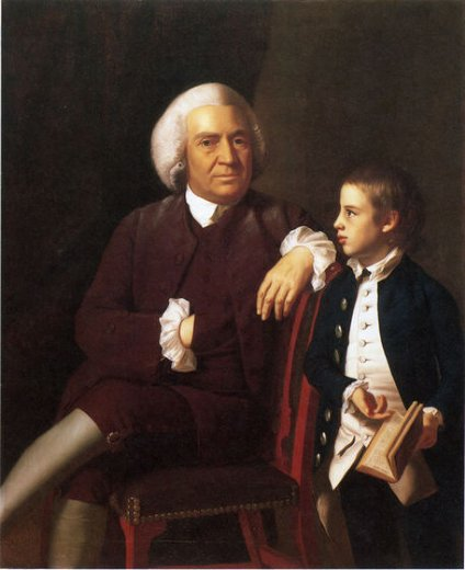 john singleton copley william vassall and his son leonard posters