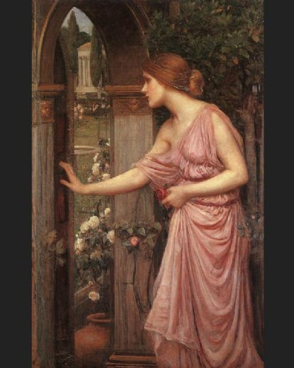 john william waterhouse psyche entering cupid s garden posters