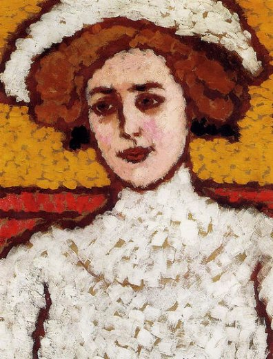 jozsef rippl ronai zora in a broad painting