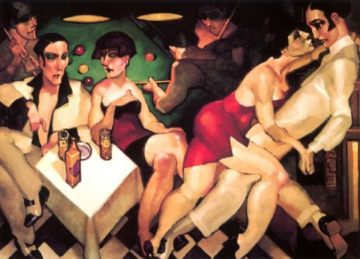 juarez machado bar in copacabana painting