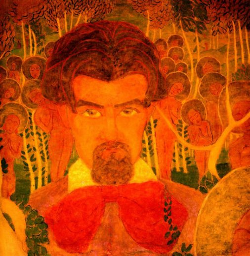kasimir malevich self portrait ii painting