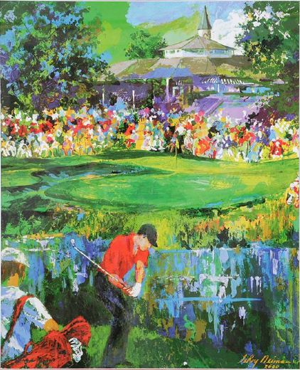leroy neiman 18th at valhalla paintings