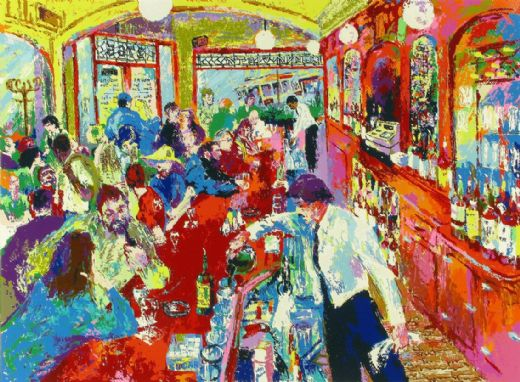 leroy neiman buena vista bar paintings