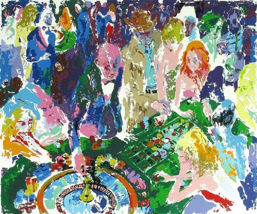 leroy neiman casino paintings