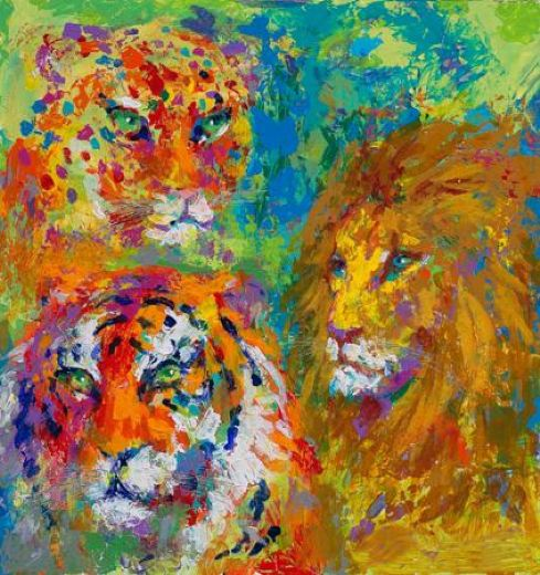 leroy neiman family portrait paintings