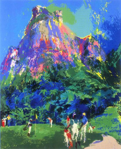 leroy neiman international foursome paintings