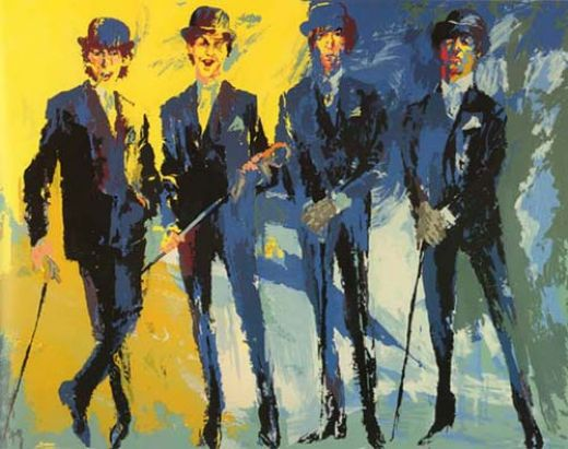 leroy neiman the beatles paintings
