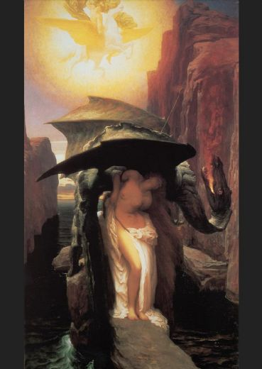 lord frederick leighton perseus and andromeda painting