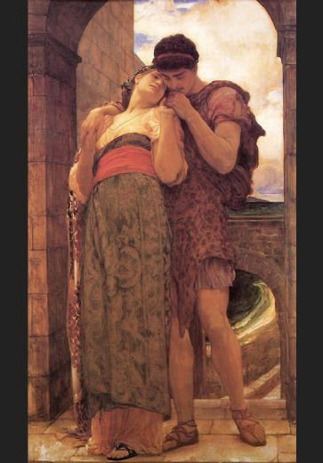 lord frederick leighton wedded paintings