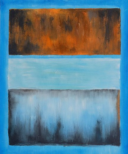mark rothko no. 61 rust and blue paintings