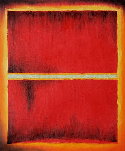mark rothko saffron 1957 paintings
