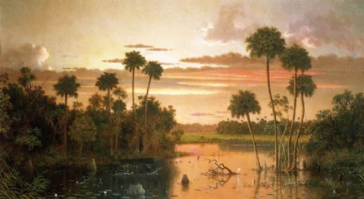 martin johnson heade the great florida sunset paintings