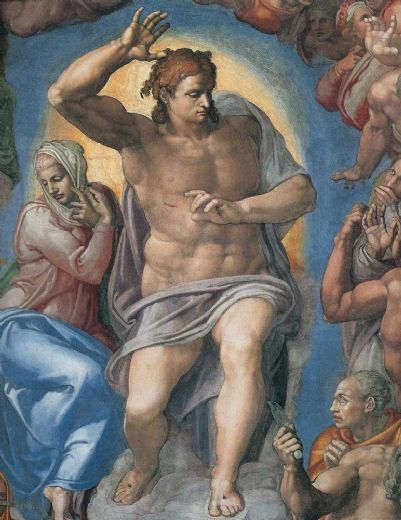 michelangelo buonarroti the last judgement christ the judge posters