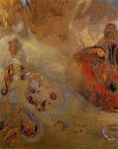 odilon redon underwater vision ii painting