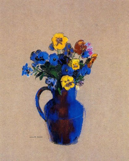 odilon redon vase of flowers paintings