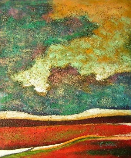 original paintings abstract landscape painting