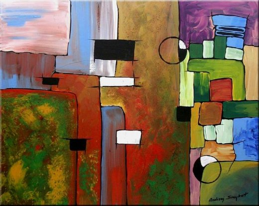 original paintings modern abstract 4 painting