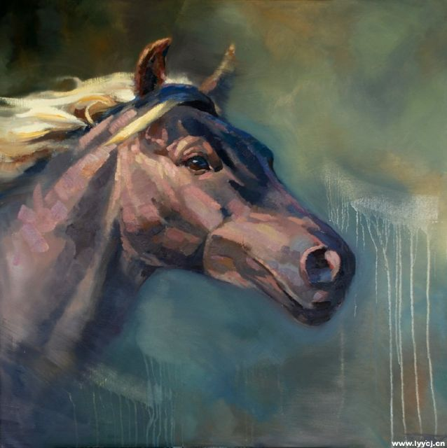 original   a horse 4 painting