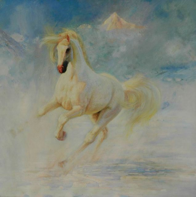original a horse 7 painting