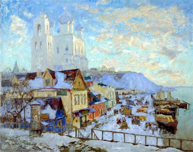 original winter russia 10 paintings