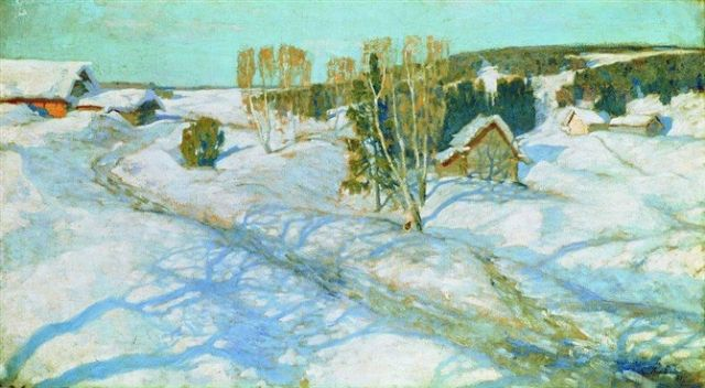 original winter russia 34 paintings