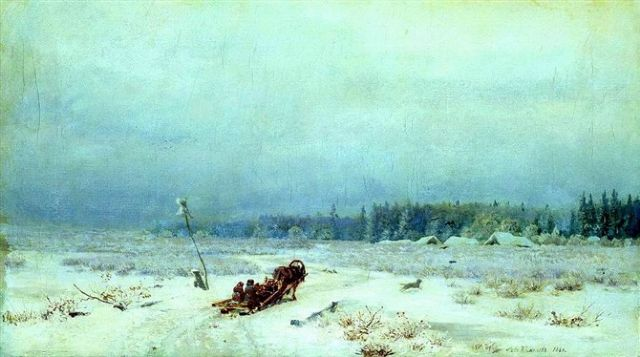 original winter russia 38 paintings