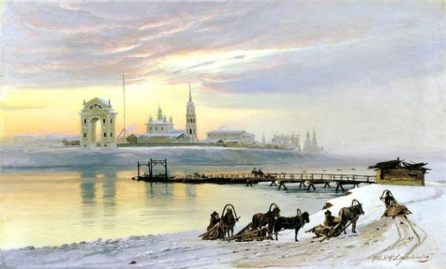 original winter russia 42 paintings