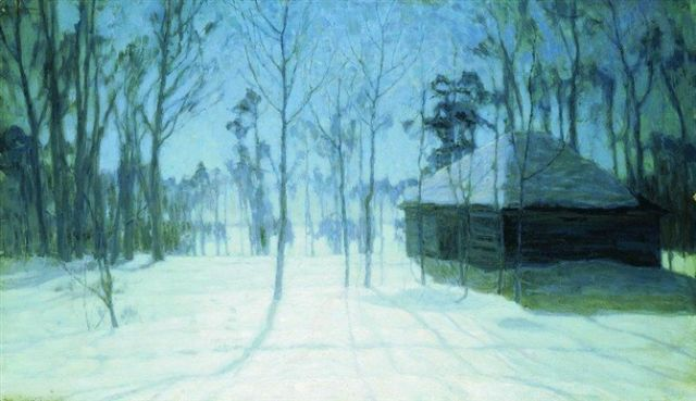 original winter russia 43 painting