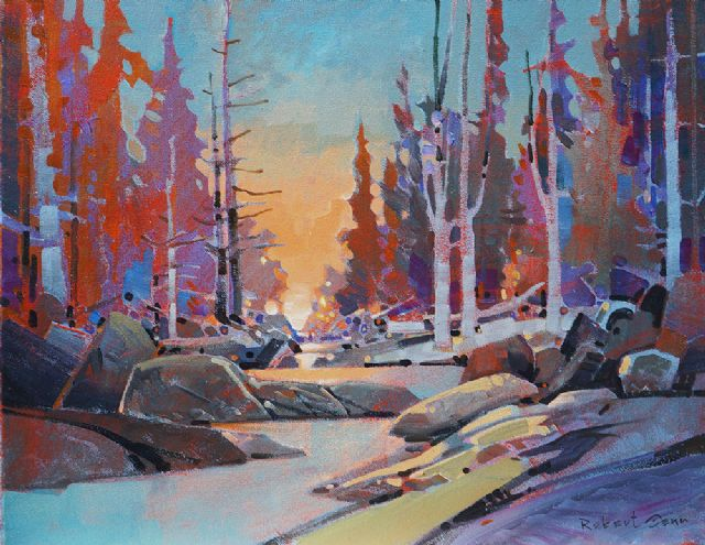 original canada trees landcsape paintings