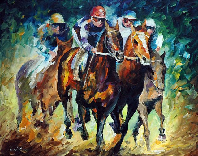original chase horses paintings