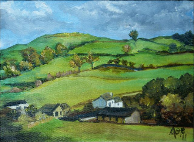 original english countryside canada landscape painting