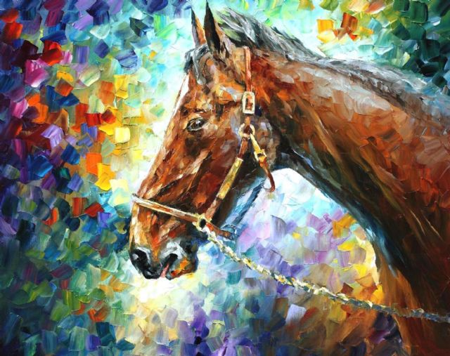 original horse 2 paintings