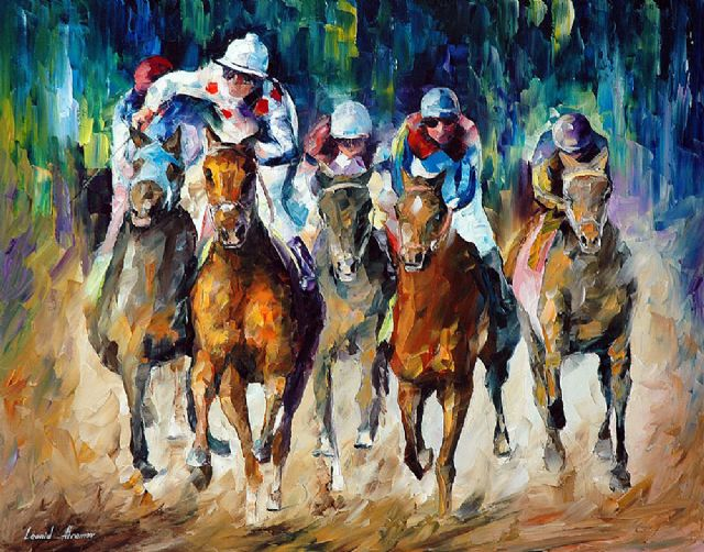 original horse racee winner paintings