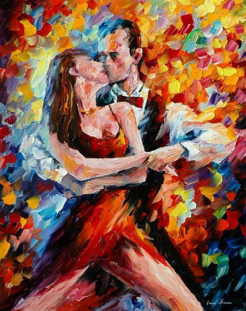 original in the rhythm of tango 2 paintings