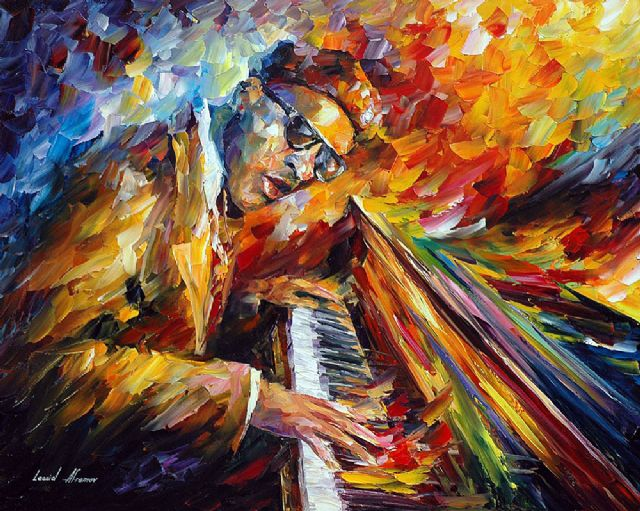 original piano music player paintings