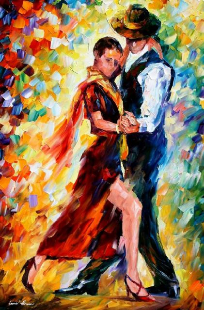 original romantic tango paintings