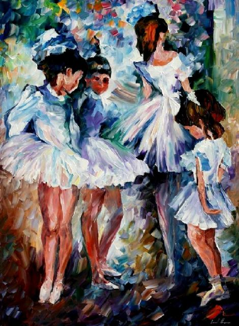 original young ballerinas paintings