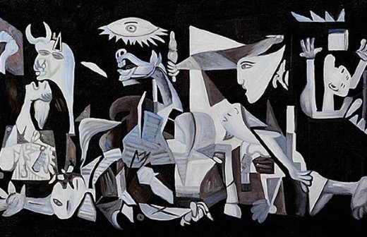 pablo picasso guernica 1937 gallery wrap painting