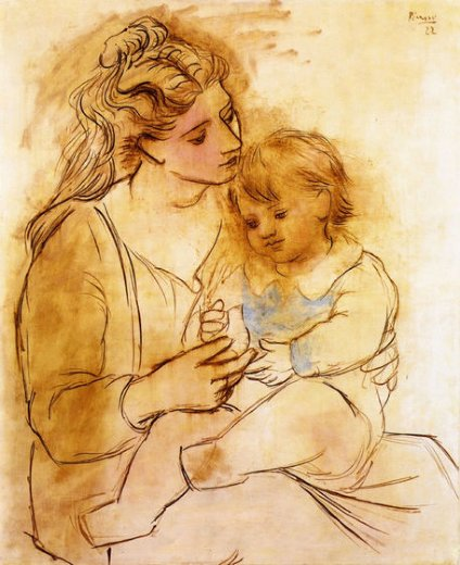 pablo picasso mother and child ii paintings