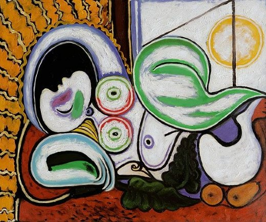 pablo picasso nu couche ii painting