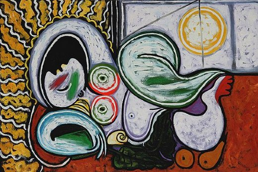 pablo picasso nu couche iii paintings