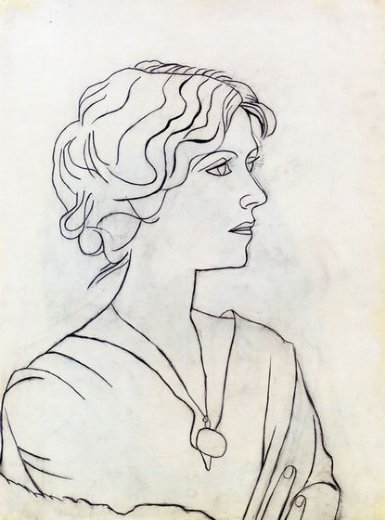 pablo picasso portrait of olga paintings