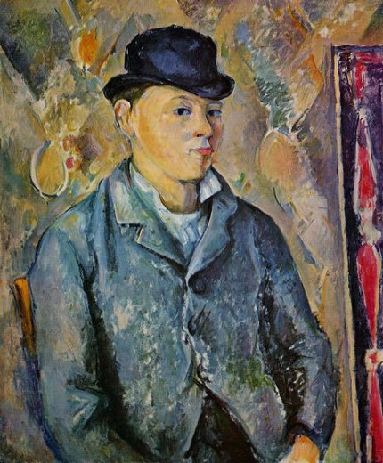 paul cezanne portrait of the artist s son paul painting