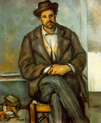 paul cezanne seated peasant ii paintings