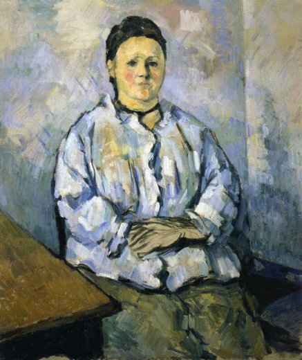 paul cezanne seated woman ii painting