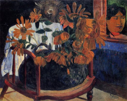 paul gauguin sunflowers painting