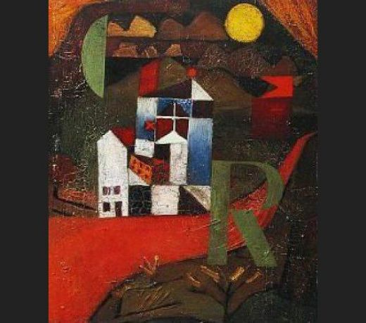 paul klee villa r painting