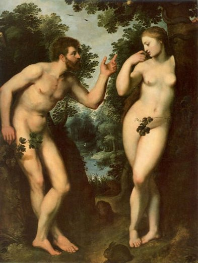 peter paul rubens adam and eve painting